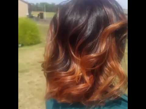 Beautiful blended Ombre Hair by Divine Beauty Studio