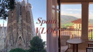 VLOG | 신혼여행 브이로그.  랜선 스페인 여행, …