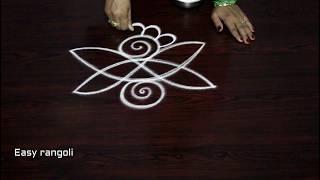 latest simple muggulu designs with out dots || easy rangoli designs || simple kolam designs