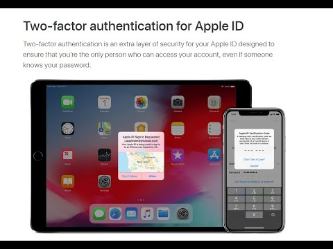 iPhone & iPad Security - 2 Two Factor Authentication