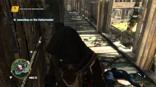 Assassins Creed IV Freedom Cry - A Scientific Inquiry: Eavesdrop on Harbormaster & Liberate Slaves