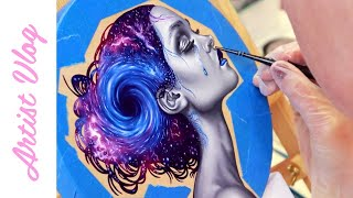 Artist Vlog #21   Mental health chats!