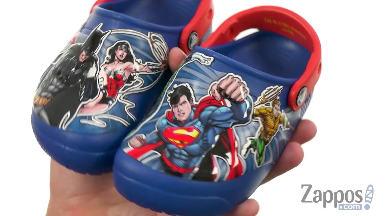 Crocs Kids FunLab Justice League Lights