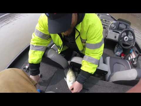 Crappie Fishing Kinkaid Lake 2018