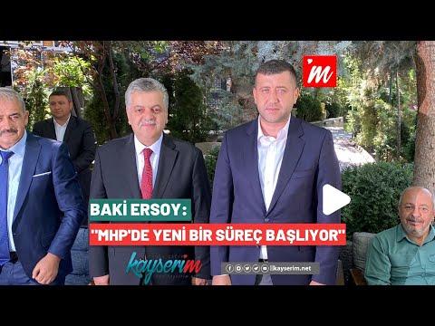 """Baki Ersoy: """"MHP'de Yeni Bir Süreç Başlıyor"""""""