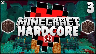 NETHER BASE! | Minecraft Hardcore Survival S2 Ep.3