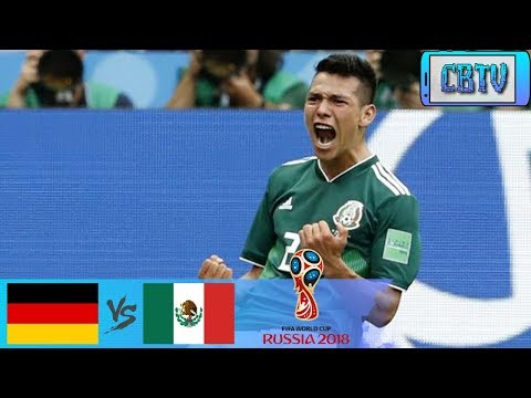 Germany vs Mexico World Cup 2018 Full Highlight pes match