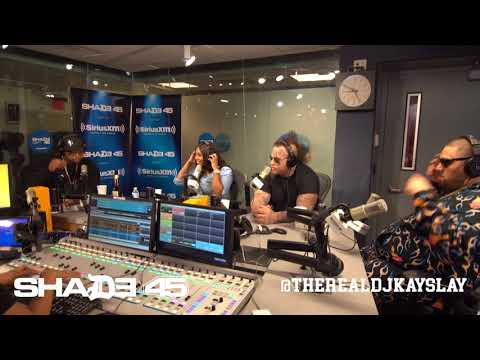 Dj Kayslay interviews Stitches on Shade45 10/11/17