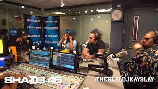 Dj Kayslay interviews Stitches on Shade45 10/11/17