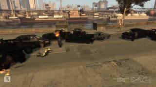 Jesper goes rampage!!! (GTA IV Gameplay)