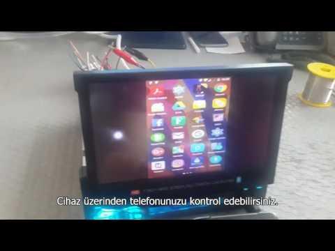 Piranha Titan C Type İndash Screen Mirroring Özelliği