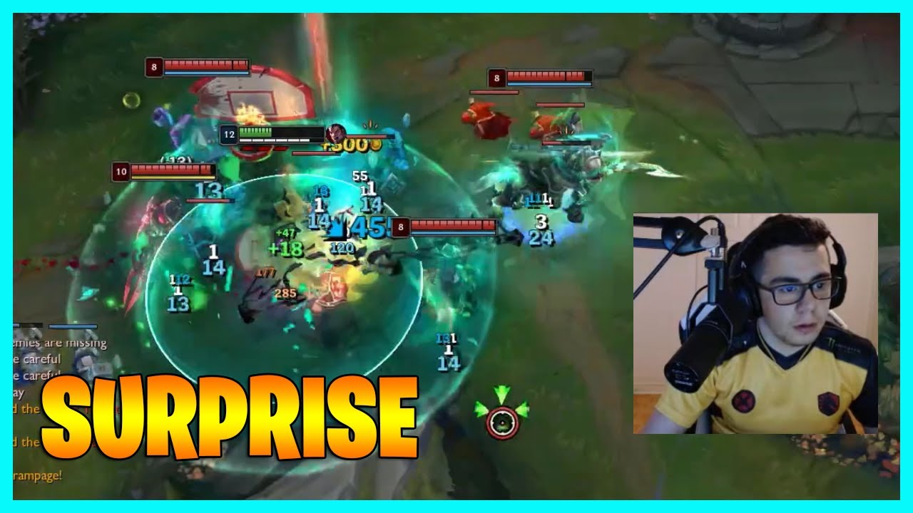 The entire enemy team's biggest surprise for TF Blade...LoL Daily Moments Ep 1448