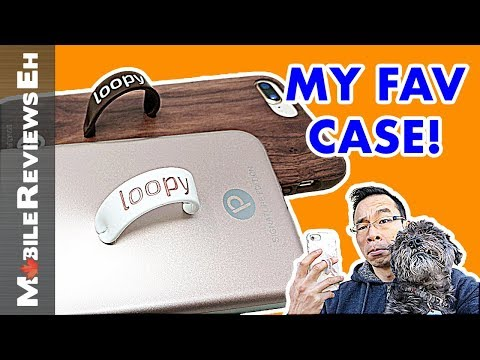 Loopy Case iPhone X/XS and 8 Review - The MOST useful case EVER!