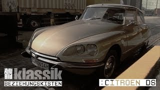 Citroen DS 20 Pallas - Kurzfilm - AUTO BILD Klassik / Beziehungskisten