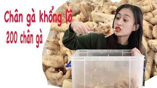 Làm thùng chân gà khổng lồ 200 chân gà | Trần Minh Phương Thảo