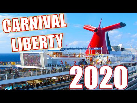 Carnival Liberty Tour And Review - Don't Take Carnival Cruise Before Watching This!!
