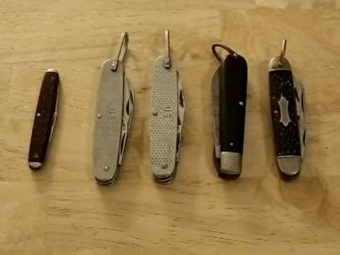 My new Hobby - vintage camillus knife collection
