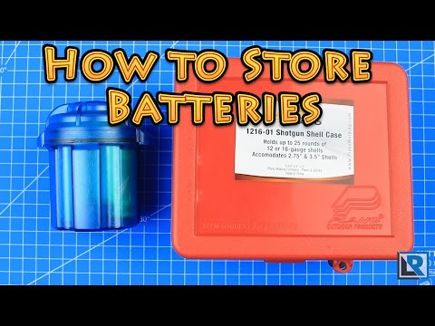 How to store 18650 batteries