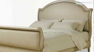 Provenance Upholstered Sleigh Bedroom Collection From Art Furniture