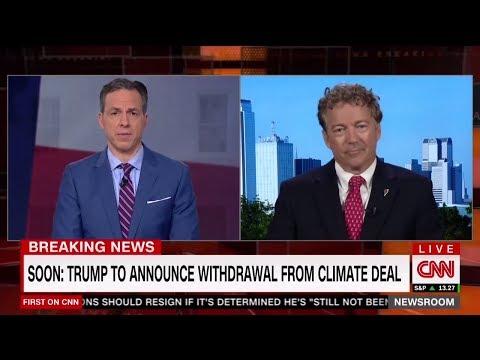 Rand Paul Destroys Paris Agreement on Climate Change | Donald Trump Part 2