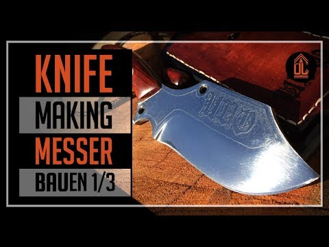 ÜL#2 | Birthday KNIFE making | MESSERBAU | Part 1/3 | DIY Bushcraft,outdoor,survival Knife |