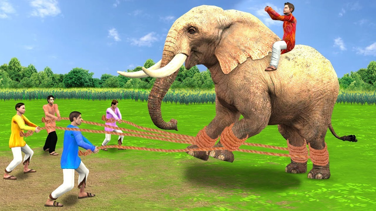 गरीब का आदिम हाथी जाल Garib Ka Primitive Elephant Trap Hindi Kahaniya हिंदी कहानी Hindi Comedy Video
