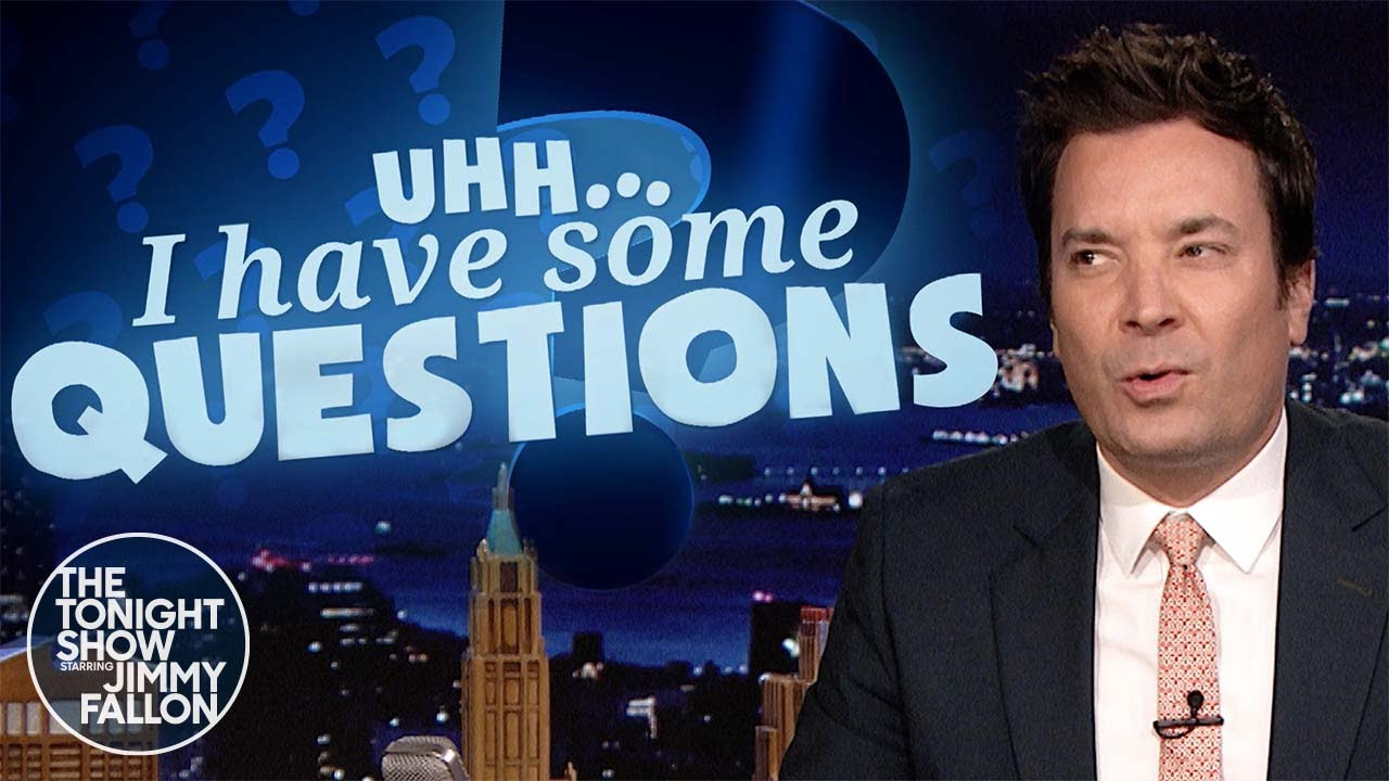 Uhh I Have Some Questions: How Much Arsenic Is Too Much?   The Tonight Show Starring Jimmy Fallon