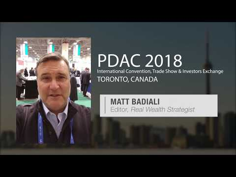 The Future of Gold and Lithium -- Live From Toronto -- Matt Badiali