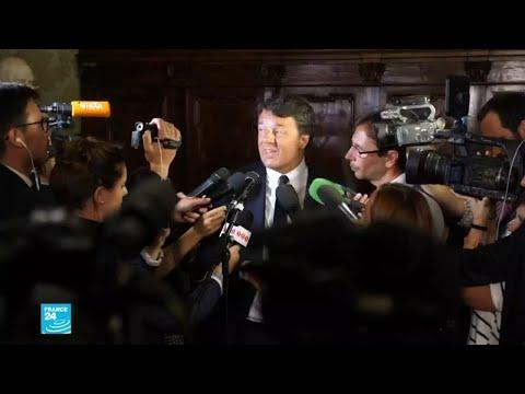 ماتيو رينزي رئيس الحكومة الإيطالية الأسبق يستقيل من الحزب الديمقراطي لتأسيس حركته  - نشر قبل 3 ساعة