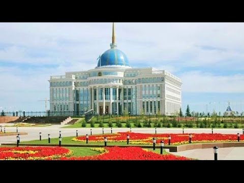Driving in Astana Street Scenes Kazakhstan Trip Travel Video