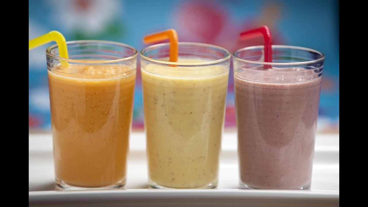 Batido de proteínas con frutas para después o antes del