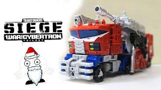 Оптимус Прайм от Такара Томи и Хасбро! Transformers War for Cybertron Siege Optimus Prime