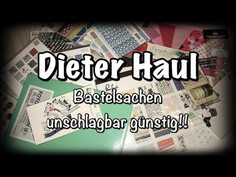 Dieter Haul, Facebook Gruppe, Batselsachen zum Schnäppchenpreis, Bastel Haul, DIY, Scrapbook