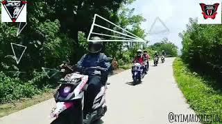 Touring Pelantikan Gabungan X-RIDERS YAMAHA INDONESIA ( XYI ) SULAWESI 2