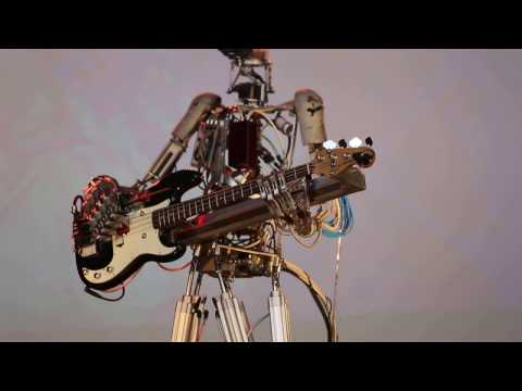 Robotic Band Performs Nirvana's Smells Like Teen Spirit
