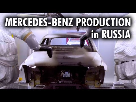 Mercedes-Benz Production Plant, Moscow, Russia 4K
