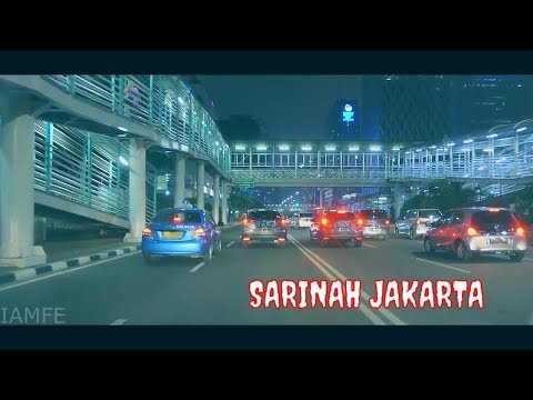 DRIVING DOWNTOWN PULOMAS - KFC SARINAH | JAKARTA NIGHT DRIVE (FULL HD)