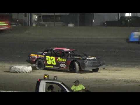 Street Stock Feature at Mt. Pleasant Speedway, Michigan on 07-12-2019!