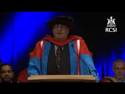 RCSI June Conferring 2016 - Professor Nezam Afdhal Delivers The Honorary Doctorate Address