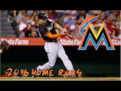 Giancarlo Stanton | 2016 Home Runs