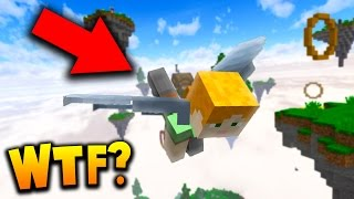 REAL MINECRAFT SKY WARS!
