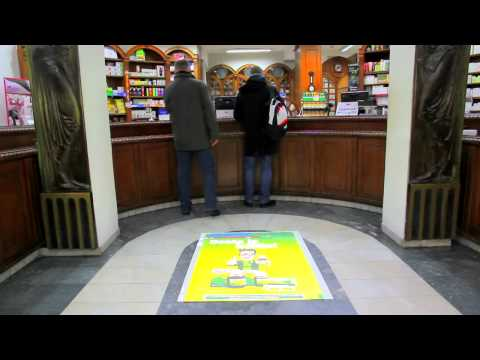 Interactive floor projection and Free Format for Salveo - Belgrade, Serbia