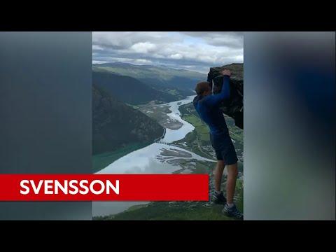 'Het was een grapje'   Interview Svensson