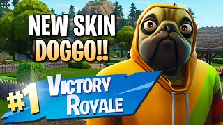 New Doggo Skin!! 11 Elims!! - Fortnite: Battle Royale Gameplay