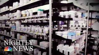 Growing Concerns Over China's Control Of American Drug Supply | NBC Nightly News