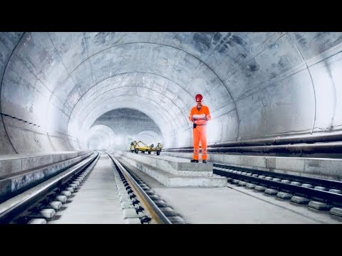 Worlds Longest Tunnel - How It Was Built - Full Documentary