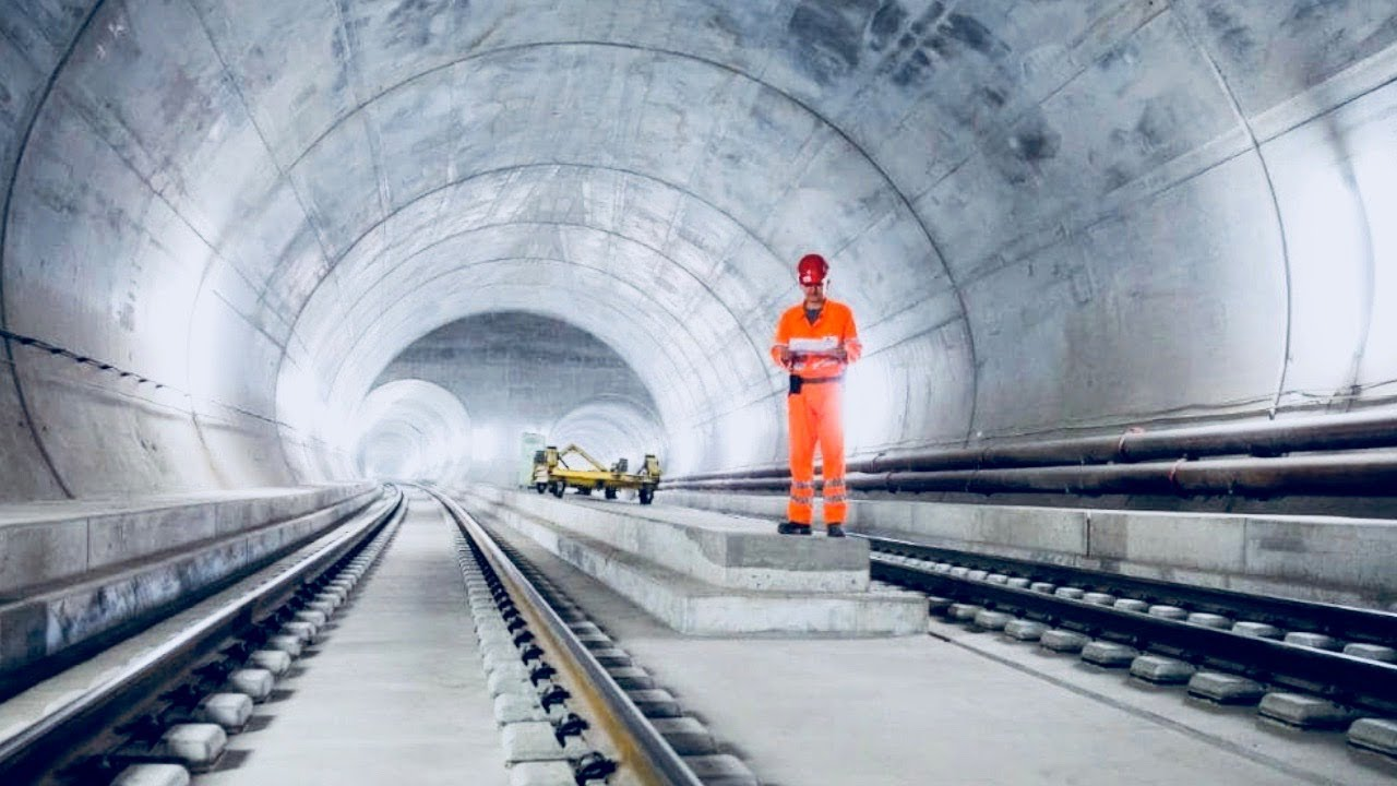 World's Longest Tunnel - How It Was Built - Full ...