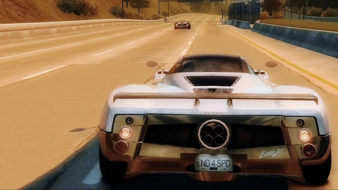 Need For Sd Undercover Pagani Zonda F Test Drive Play Hd 1080p60fps