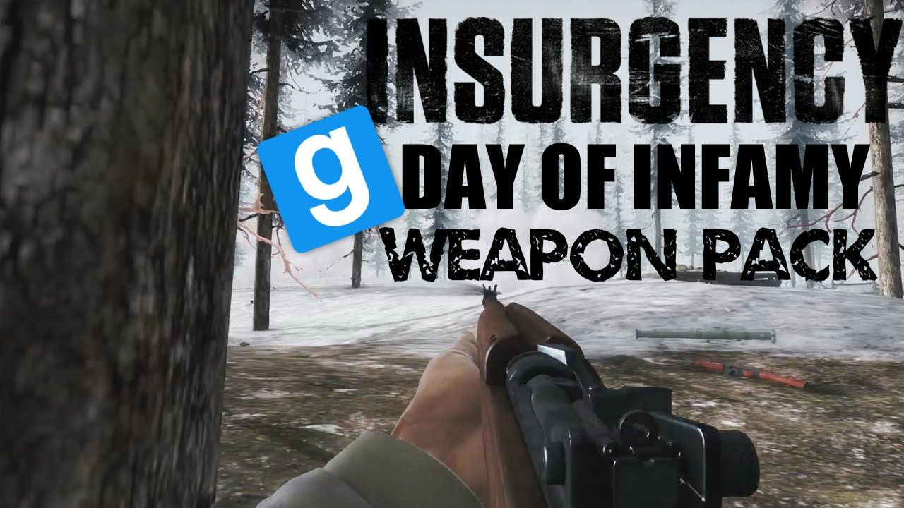 Garry's Mod Insurgency Day of Infamy Weapon Pack
