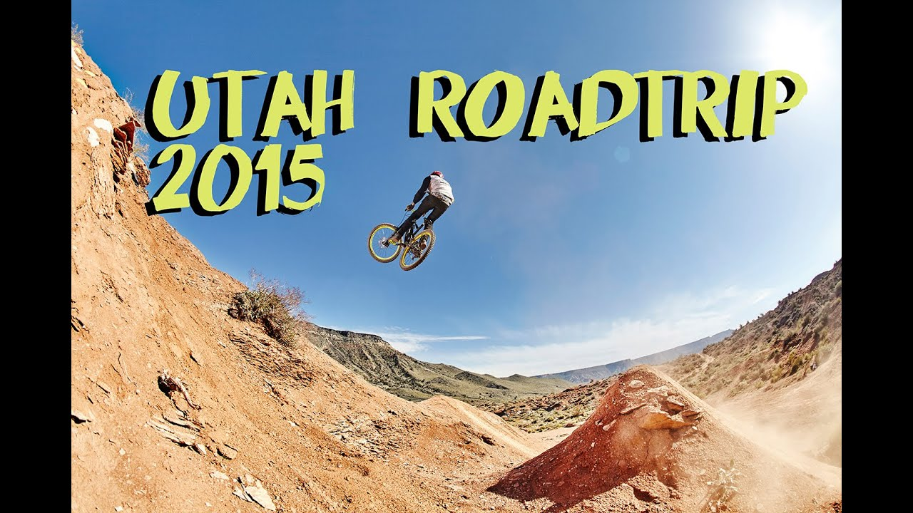 Riding the old Red Bull Rampage site MTB Freeride Roadtrip Utah USA 2015